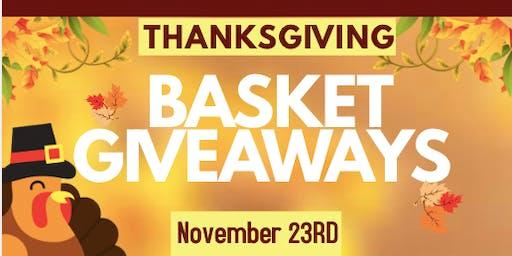 Thanksgiving Basket Give-Away