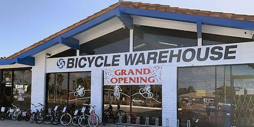 Bicycle Warehouse Oceanside Grand Opening Party