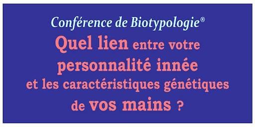 Quel lien entre votre personnalité innée et votre type de main... selon la Biotypologie®