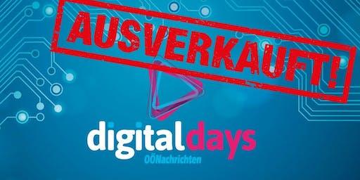 OÖNachrichten Digital Days 2019 - restlos ausverkauft!