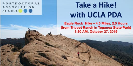 Eagle Rock Hike from Trippet Ranch with UCLA PDA