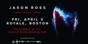 Jason Ross at Royale | 4.3.20 | 10:00 PM | 21+