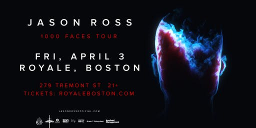 Jason Ross at Royale | 4.3.20 | 10:00 PM | 21+