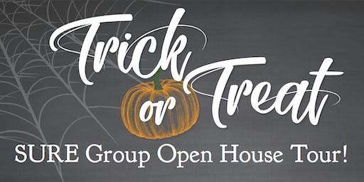 Trick or Treat Open House Tour