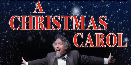 A Christmas Carol, with John D Huston as Charles Dickens tickets