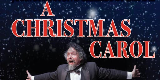 A Christmas Carol, with John D Huston as Charles Dickens