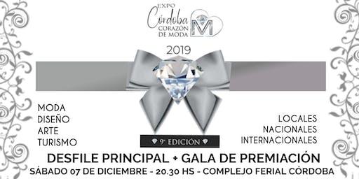 CÓRDOBA CORAZÓN DE MODA -  Desfile Principal + Gala De Premiación