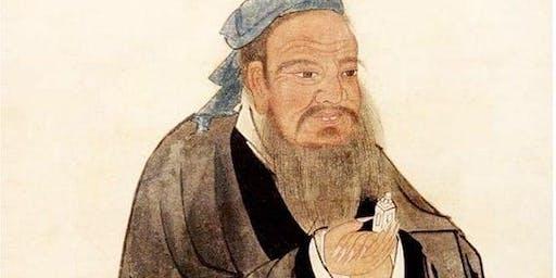 """Confucius- Life, Era, Philosophy, Legacy"" free lecture Dr. James Rietveld"