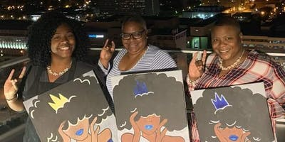 Daquanette's Paint N Sip!