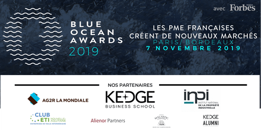 Blue Ocean Awards 2019 - Edition Aquitaine