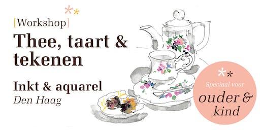 * SPECIAL * Ouder & Kind Workshop (AL) | Thee, taart en tekenen