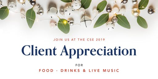 2019 CSE Client Appreciation
