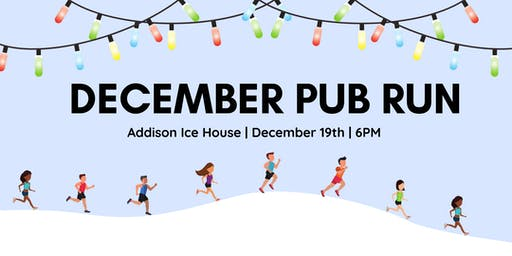 December Pub Run: Vitruvian Lights at Addison Ice House
