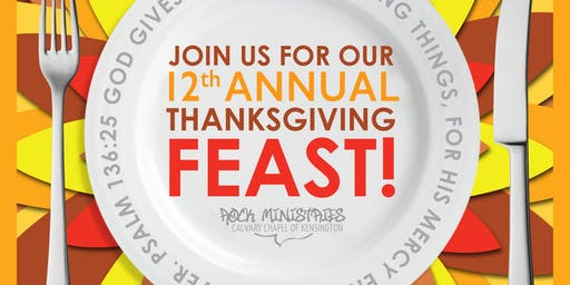 Rock Ministries Thanksgiving Dinner