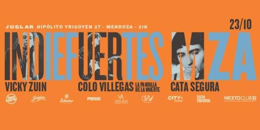 INDIEFUERTES CANTAUTORXS 23 DE OCTUBRE | Vicky Zuin |Colo Villegas|Catalina