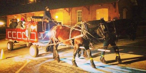 Friday Night Horse-Drawn Wagon Rides