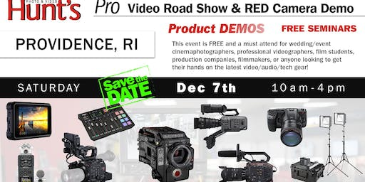 Hunt's Photo & Video Professional Video Show and Demo Providence RI
