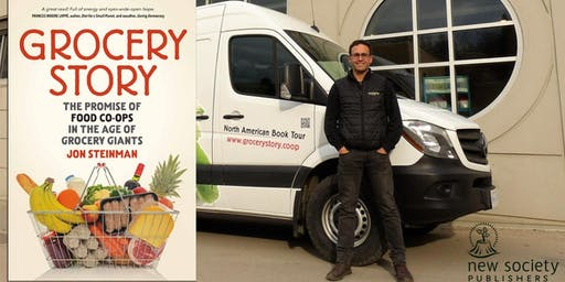 Meet Grocery Story Author, Jon Steinman