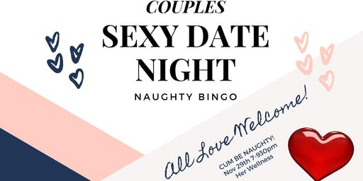 Couples Sexy Date Night / Naughty Bingo