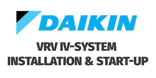 Daikin VRV IV-S System Installation & Start-Up - Great Barrington