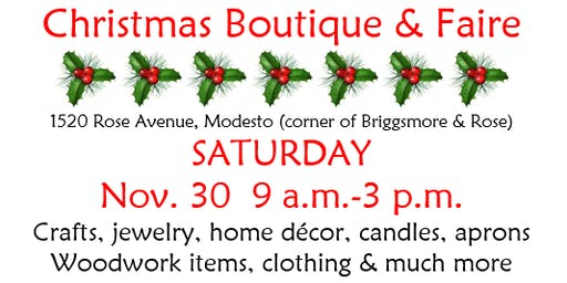 Christmas Boutique & Faire