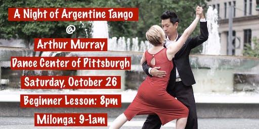 A Night of Argentine Tango