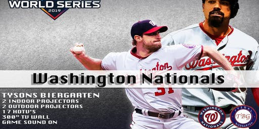 Watch the World Series at Tysons Biergarten!
