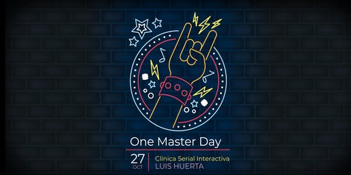 One Master Day con Luis Huerta
