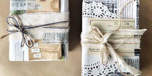 Winter Season: Non-plastic present wrapping