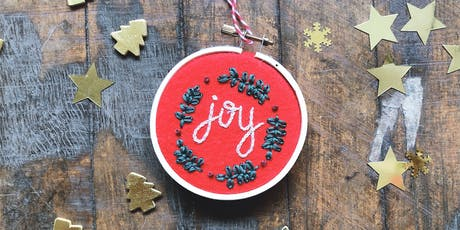 Oh Sew Festive: Embroidered Ornaments - Herald Square tickets