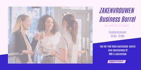 Zakenvrouwen Business Borrel voor vrouwelijke ondernemers [Amsterdam] tickets