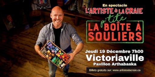 Conte Noël, l'Artiste à la craie: La p'tite Boîte À Souliers