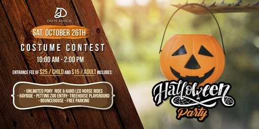Halloween Party at Davie Ranch