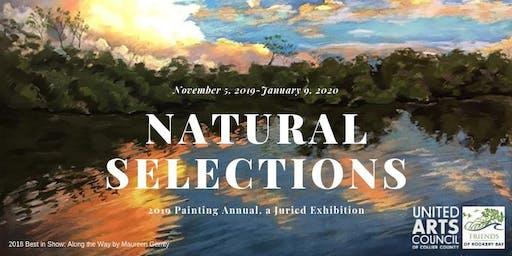 Award Reception! Natural Selections: 2019 Painting Annual