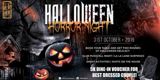 Halloween Horror Night At La La Land Pub, Gurgaon