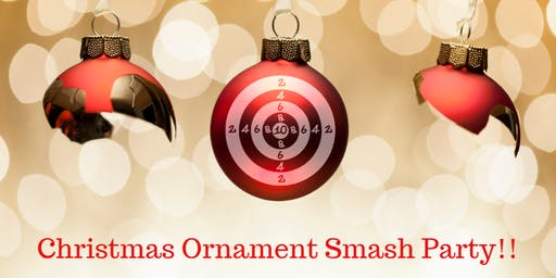 Christmas Ornament Smash Party