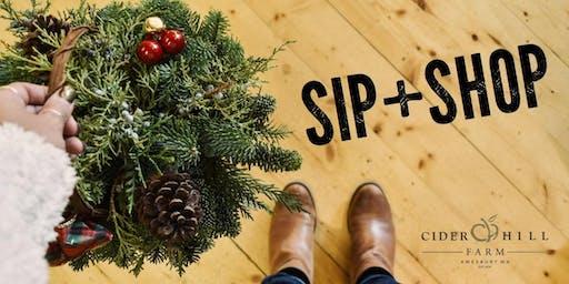 SIP + SHOP at Cider Hill Farm