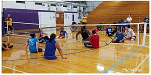 Stockton University Sitting Volleyball Tournament