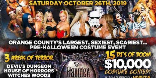 Glam Halloween Horror Night  at Mansion Free Guestlist - 10/26/2019