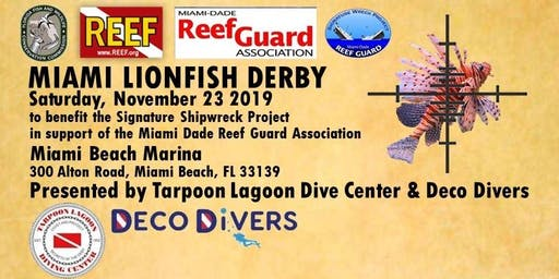 MIAMI SIGNATURE SHIPWRECK LIONFISH DERBY