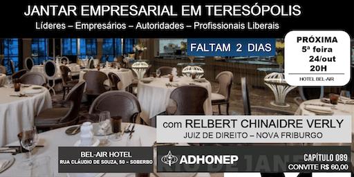 JANTAR EMPRESARIAL DA ADHONEP ! FALTAM 2 DIAS! All Inclusive