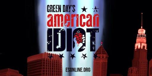 American Idiot - Saturday, November 23, 8:00PM