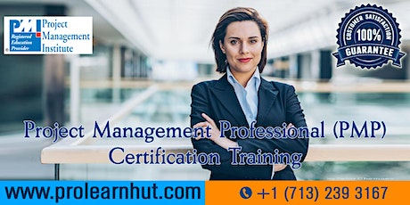 PMP Certification | Project Management Certification| PMP Training in Jersey City, NJ | ProLearnHut tickets