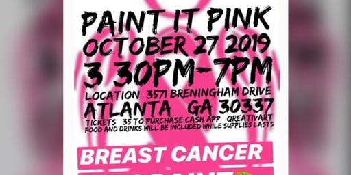 PAINT IT PINK (Sip and Paint)