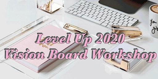 Level Up Vision Board Workshop