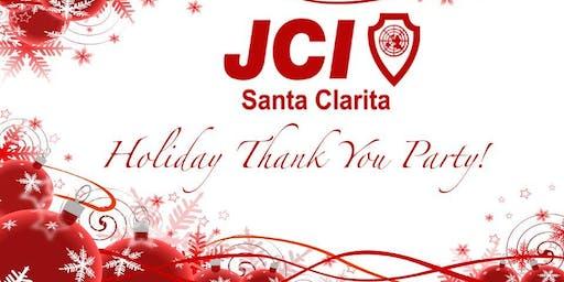 JCI Santa Clarita Holiday Thank You Party!