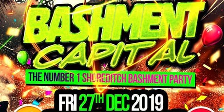 Bashment Capital - Shoreditch Party tickets