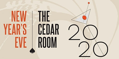 New Year's Eve at The Cedar Room tickets