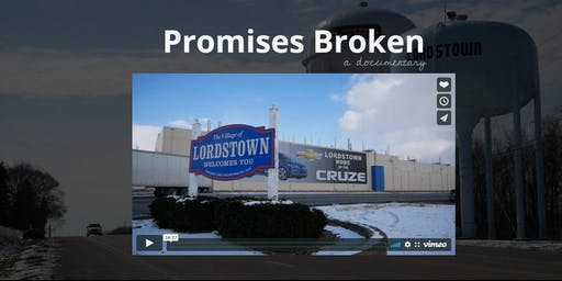 Promises Broken documentary screening & panel discussion