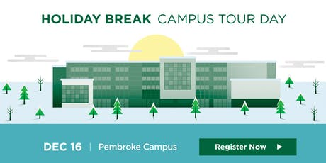 Algonquin College Pembroke Campus: 2019 Holiday Break Campus Tour tickets